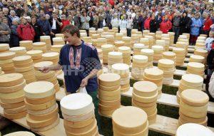チーズ分配祭り